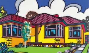 Howard Arkley's Family Home – Suburban Exterior 1993
