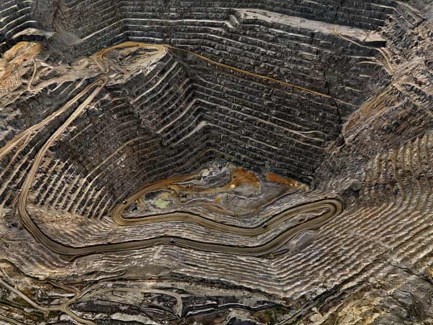 Highland Valley #8 … an open pit copper mine in Canada