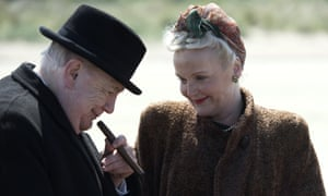 Brian Cox and the 'formidable' Miranda Richardson in Churchill