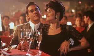The good Jewish girl seduced into a mafia marriage … Bracco with Ray Liotta in Goodfellas.