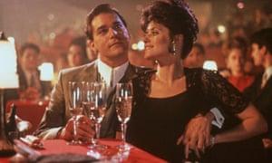Thrilling … Ray Liotta and Lorraine Bracco in Goodfellas.
