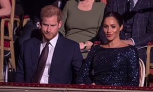 The Duke and Duchess of Sussex: 'Her toughest role so far.'