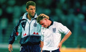 Paul Gascoigne's woe is just one of the memorable images from Italia 90.
