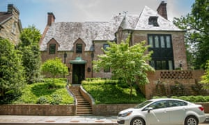 The first couple are believed to have leased a 8,200-square-foot, nine-bedroom mansion in the affluent neighborhood for when the president leaves office in January.
