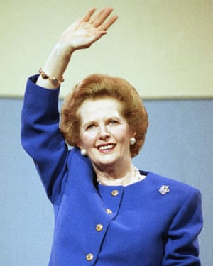 Former British Conservative prime minister Margaret Thatcher, who in 1989 called global warming one of the most serious threats facing humanity.