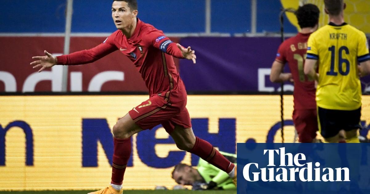 Cristiano Ronaldo nets 100th Portugal goal in Nations League win over Sweden
