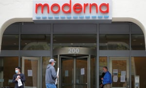 Moderna has never brought a vaccine to market, but company insiders have sold some $248m of shares – most of them after the company was selected to receive Trump funding