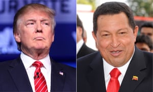 Both Donald Trump and Venezuelan leader Hugo Chávez broke all the rules of presidential conduct.