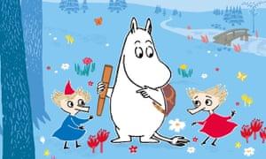 Moomin, with Thingumy and Bob