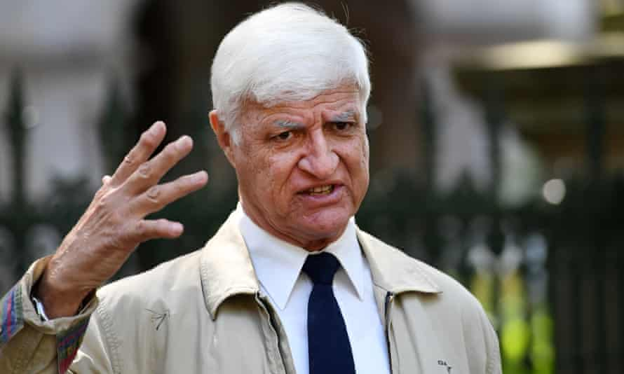 Bob Katter: 'If [Adani] needs $18.5m ... we can safely assume the project is in real trouble.'
