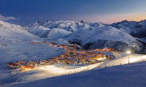 Drive 2 landscape.Alpe d'Huez