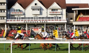 The crowds were back at the races at Haydock on Wednesday.