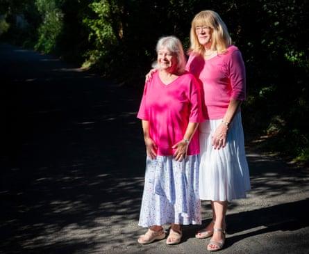 Barbara and Jane Hamlin