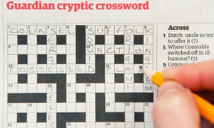 A Guardian cryptic crossword