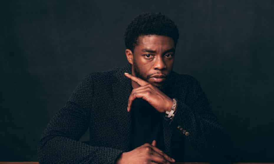 Chadwick Boseman photographed at the Toronto film festival, 2016.