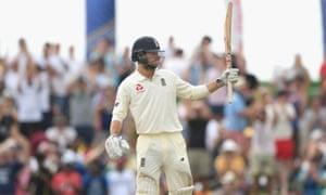 England batsman Ben Foakes soaks up the applause after reaching his half century.