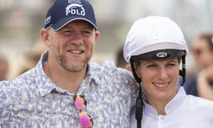 Zara Phillips and Mike Tindall earlier this year.