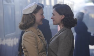Whiff of silliness … Holliday Grainger and Anna Paquin in Tell It to the Bees.