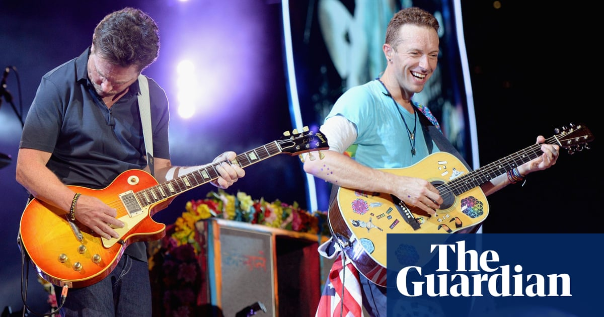 Michael J Fox Joins Coldplay To Recreate Back To The Future Scene