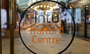 Trafford shopping centre, Manchester, owned by Intu, which has faced tenants closing stores or seeking rent falls.