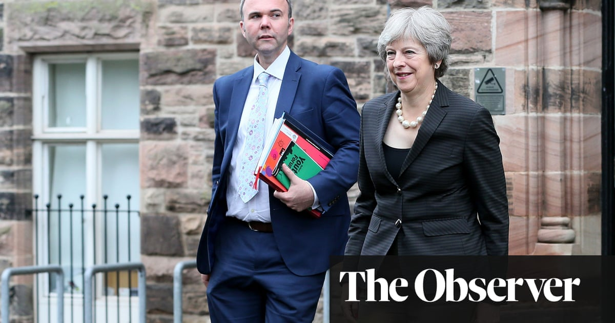 Chief of Staff by Gavin Barwell review – Theresa May's one true blue