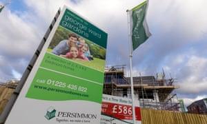 A Persimmon Homes' development