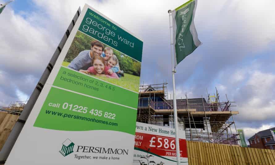 A Persimmon development in Melksham, Wiltshire