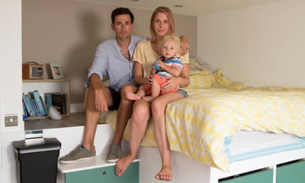 The family claim they reported leaks in their block two years before water came through their ceiling - but nothing was done.