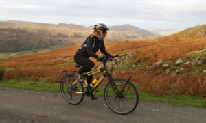 Kate Rawles bamboo bike - Eden project