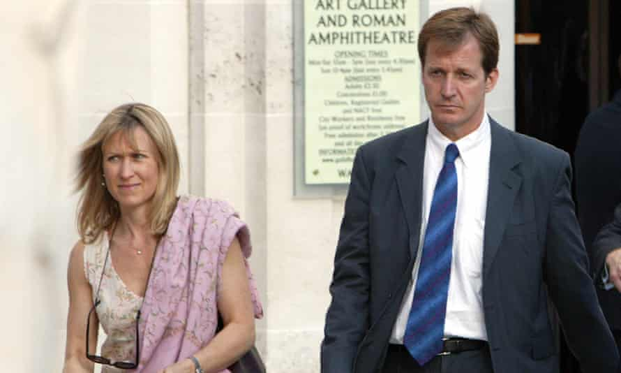 Campbell with his partner, Fiona Millar. He recounts how the pair nearly split in 2006 over his inability to leave Tony Blair's side.