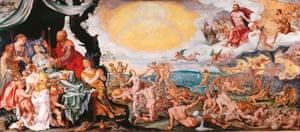 The Four Last Things, 1565, by Maarten van Heemskerck.