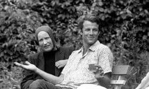 Edith Bouvier Beale and Peter Beard.