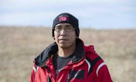 Julian Bear Runner, president of the Oglala Sioux tribal council.