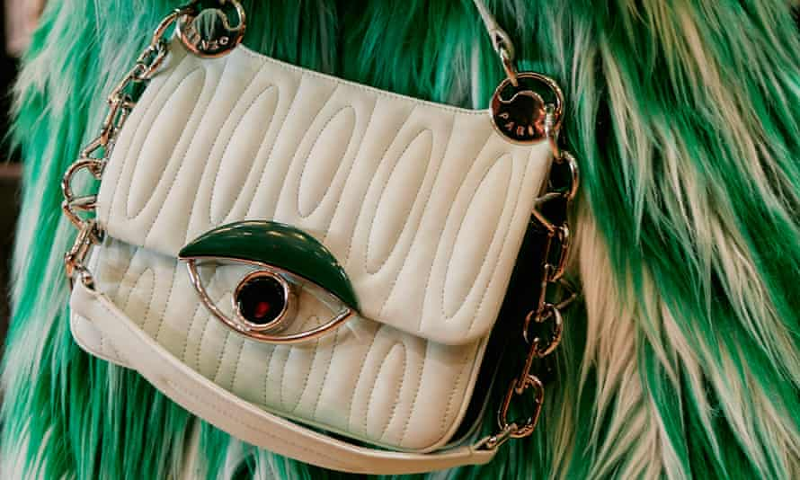 A Kenzo bag with an evil eye