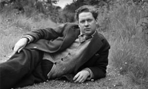 Welsh poet and playwright Dylan Thomas