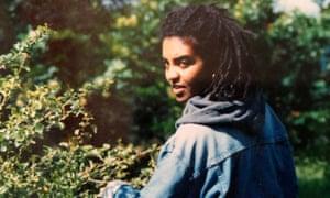 Adjoa Andoh in her early twenties.