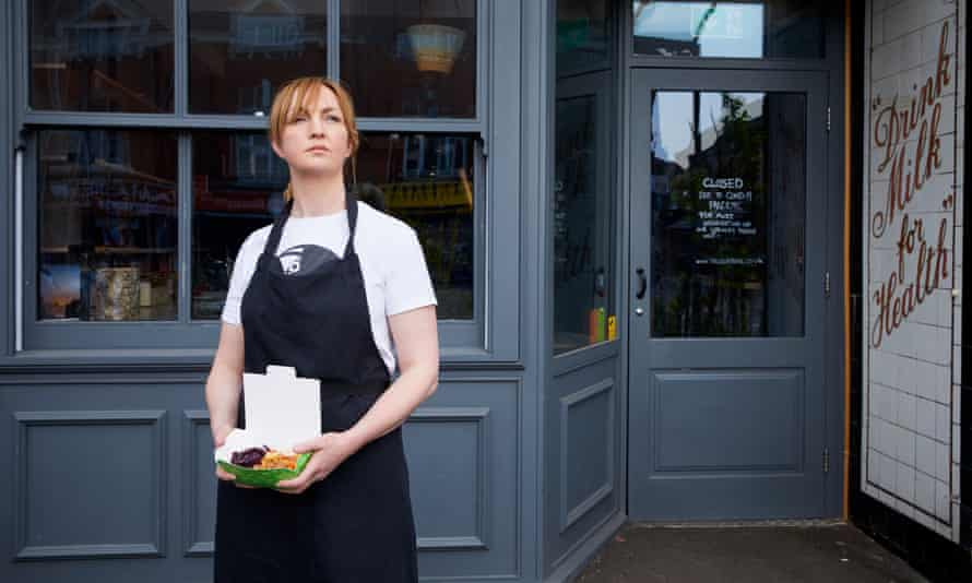 Chef Mary-Ellen McTague at her restaurant, the Creameries, in Chorlton, south Manchester
