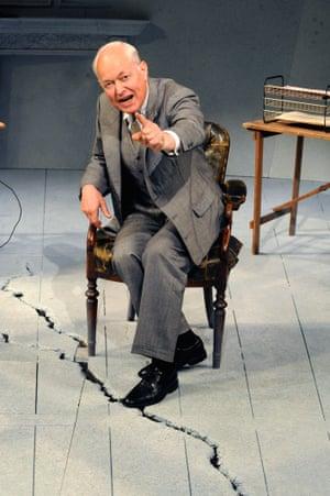 Michael Pennington as Furtwängler in Taking Sides at the Minerva, Chichester, in 2008.