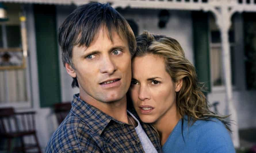 With Maria Bello in A History of Violence, 2005.