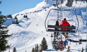 High life … Beaufort locals have resisted proposed ski lift expansion