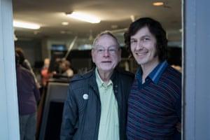 Peter de Waal with Luke Mullins