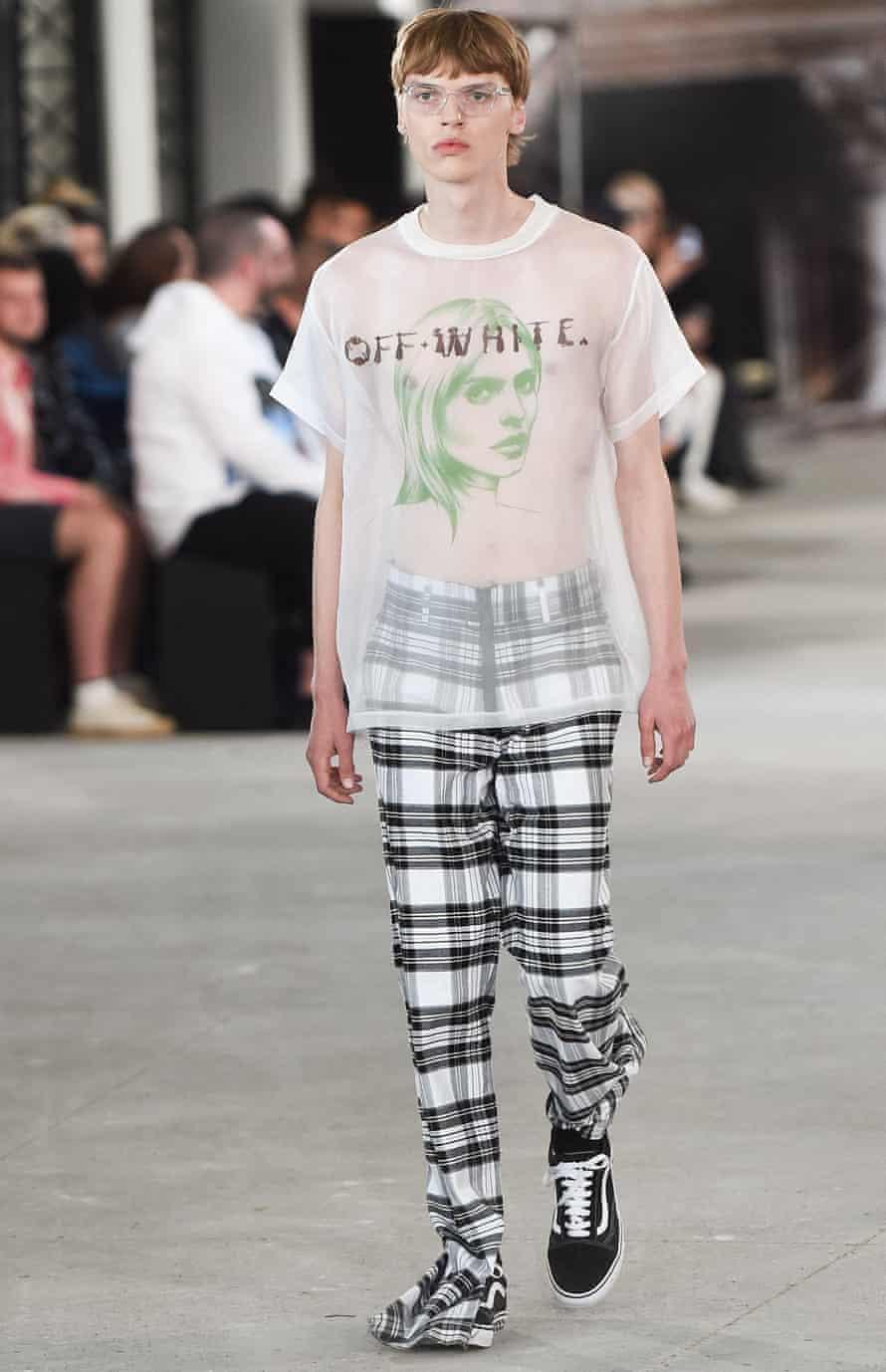 The Off-White show at Paris Men's Fashion Week.