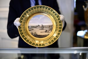 A plate which belonged to Napoleon