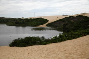 Renowned as a site of cultural and natural significance, the dunes - which lie at the northern end of Bate Bay, a 20-minute walk from the heart of Cronulla - were also the set of many films, including 40,000 Horsemen, and they remain a habitat for the endangered green and golden bell frog.