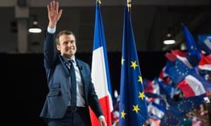 Emmanuel Macron in Marseille