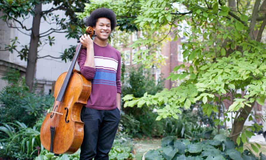 Cellist Sheku Kanneh-Mason, whose mother Kadiatu is publishing a memoir about their musical family.