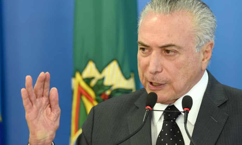 Michel Temer Brazil