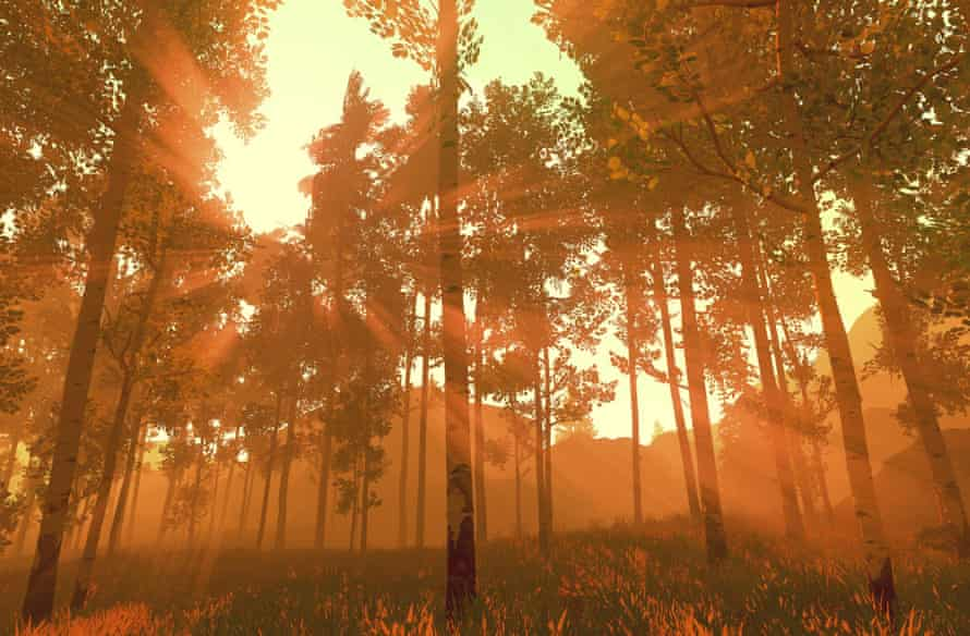Firewatch, game