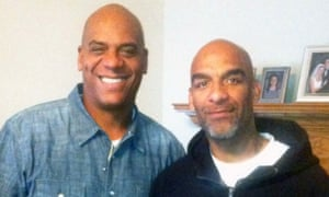 Eric Harris, right, with his brother Andre.