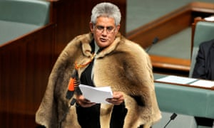 The first Indigenous member of the House of Representatives Ken Wyatt delivers his maiden speech to the House of Representatives in Canberra, 29 September 2010.
